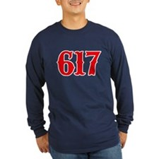 Boston 617 Long Sleeve T-Shirt