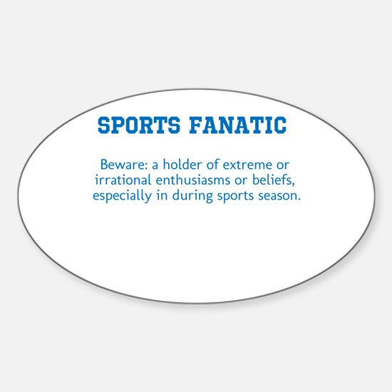 Sports Fanatic Decal