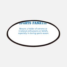 Sports Fanatic Patches