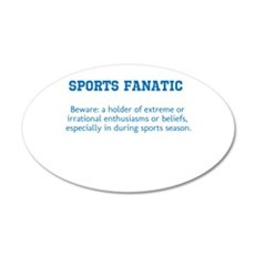 Sports Fanatic Wall Decal