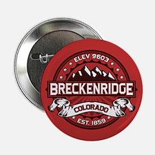 """Breckenridge Red 2.25"""" Button"""