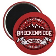 Breckenridge Red Magnet