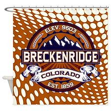 Breckenridge Vibrant Shower Curtain