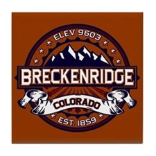 Breckenridge Vibrant Tile Coaster