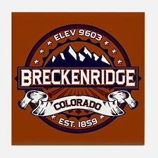 Breckenridge Vibrant Tile Coaster