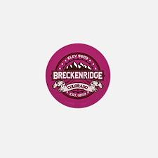 Breckenridge Raspberry Mini Button