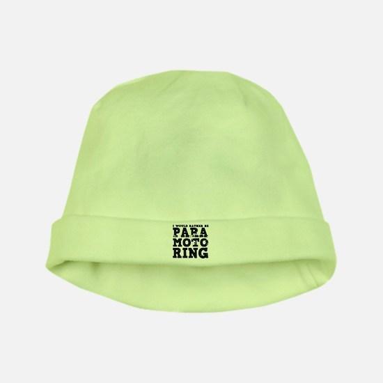 'Paramotoring' baby hat