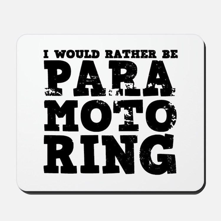 'Paramotoring' Mousepad