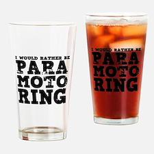 'Paramotoring' Drinking Glass