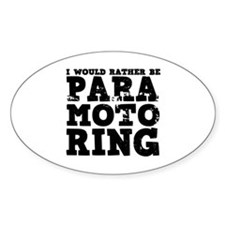 'Paramotoring' Decal