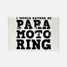 'Paramotoring' Rectangle Magnet