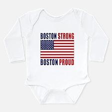 Boston Strong Long Sleeve Infant Bodysuit