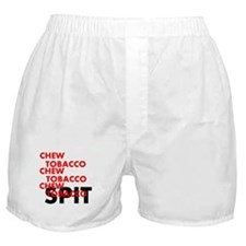 Chew Tobacco Boxer Shorts
