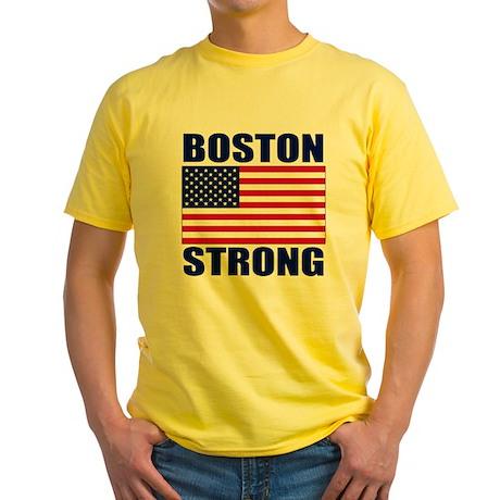 Boston Strong Yellow T-Shirt