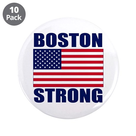 "Boston Strong 3.5"" Button (10 pack)"