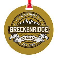 Breckenridge Tan Ornament