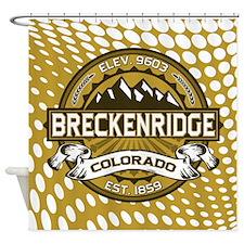 Breckenridge Tan Shower Curtain