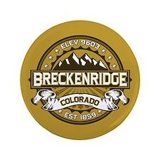 """Breckenridge Tan 3.5"""" Button"""