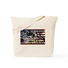 Patriotic T-shirt Tote Bag