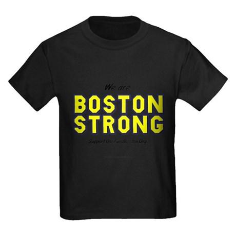"""BOS Strong"" Kids Dark T-Shirt"
