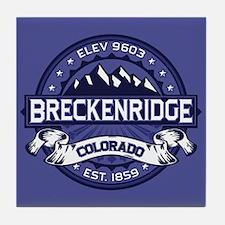 Breckenridge Midnight Tile Coaster