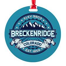 Breckenridge Ice Ornament