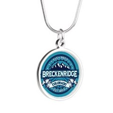 Breckenridge Ice Silver Round Necklace