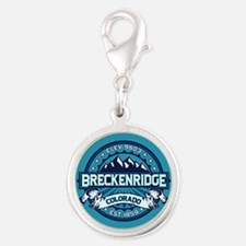 Breckenridge Ice Silver Round Charm