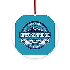 Breckenridge Ice Ornament (Round)