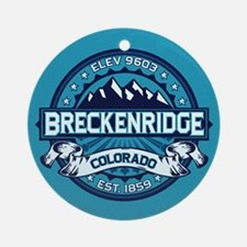 Breckenridge Ice Ornament (Round)
