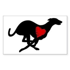 Greyhound Decal Hearthound