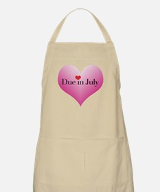 Due in July Apron