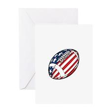 All American Football Greeting Card