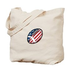 All American Football Tote Bag