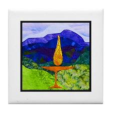 Uu Mountain Chalice Tile Coaster