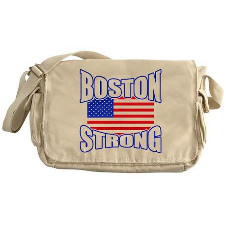 Boston Strong patriotism Messenger Bag