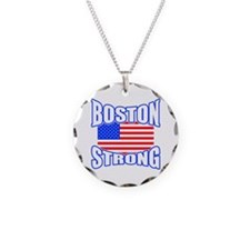 Boston Strong patriotism Necklace