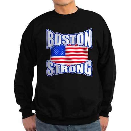 Boston Strong patriotism Sweatshirt (dark)