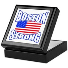 Boston Strong patriotism Keepsake Box
