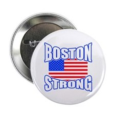 """Boston Strong patriotism 2.25"""" Button (100 pack)"""