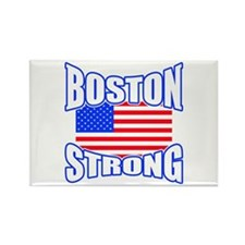 Boston Strong patriotism Rectangle Magnet