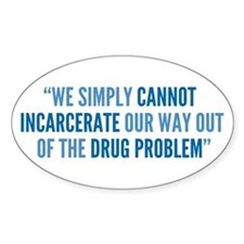 Drug Policy Reform Quote Decal