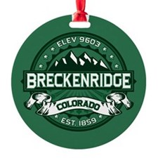Breckenridge Forest Ornament