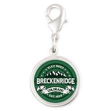 Breckenridge Forest Silver Round Charm