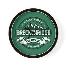 Breckenridge Forest Wall Clock
