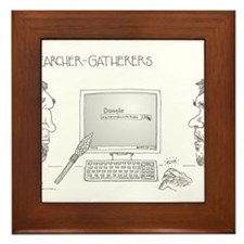 Searcher-Gatherers Framed Tile