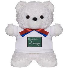 I judge you when you use poor grammar. Teddy Bear