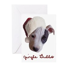 Jingle Bulls Greeting Cards (Pk of 10)