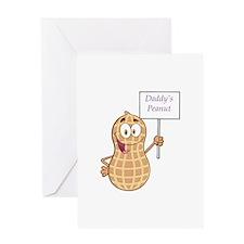 Daddy's Peanut Greeting Card