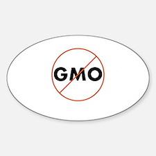 No GMO Decal